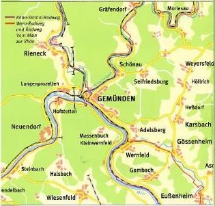 Saale Radweg Karte Pdf.Stadt Gemunden A Main